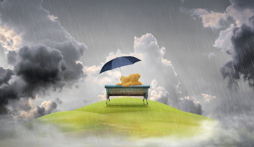 Pršia životné udalosti? Chce to dáždnik!